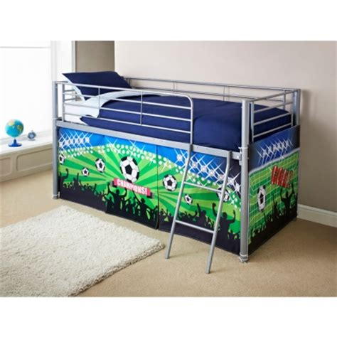 Football Bunk Beds Midsleeper Bed Football Bedroom Furniture B M Stores