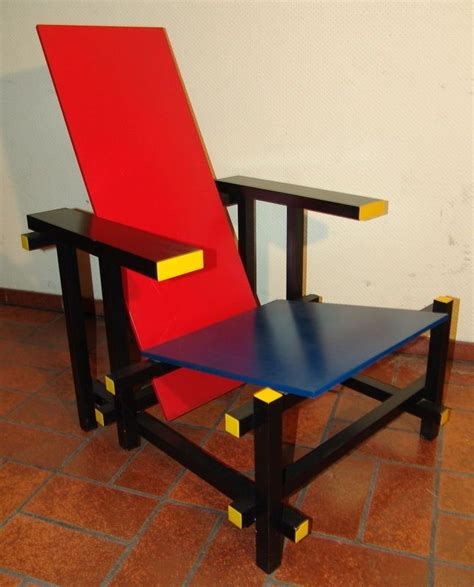 stuhl blau 17 best images about rietveld chair on