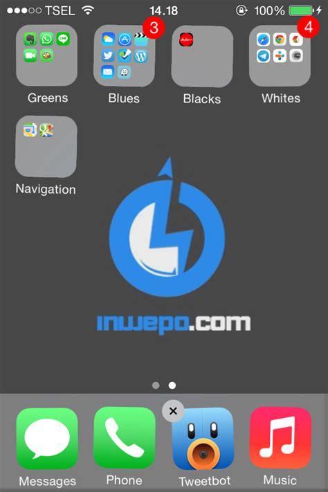 cara membuat quotes di iphone cara membuat folder di iphone ipad dan ipod darycrack