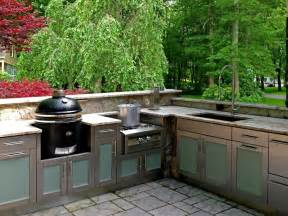 Outdoor Kitchen Cabinets Stainless Steel by The Stainless Steel Outdoor Kitchen Cabinets For Your Home