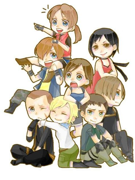 Style Anime Residen Evil 1441 best images about resident evil on s