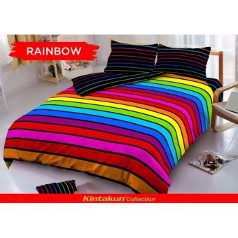 Sprei Disperse 180 Best Product sprei kintakun d luxe uk 180x200 motif rainbow lazada