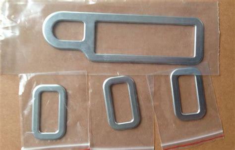 Satu Set Cover Penutup Handel Pintu Luar Warna Silver C Limited plastik abs chrome interior jendela beralih cover untuk