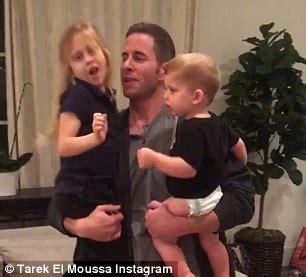tarek and christina el moussa welcome son brayden james flip or flop s tarek el moussa says he s the luckiest man