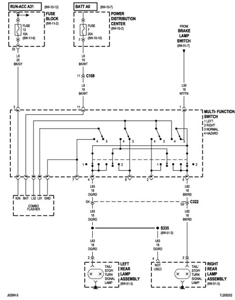 tj fuse box diagram