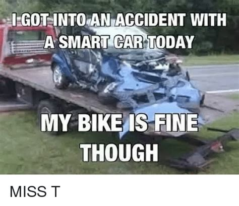 Bike Crash Meme - funny smart car memes of 2017 on me me carli