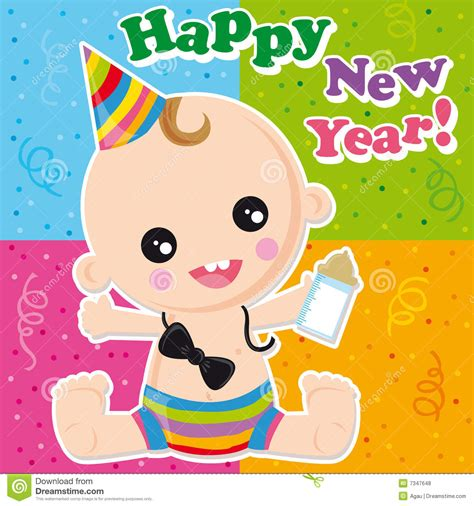 happy new year royalty free stock photos image 7347648