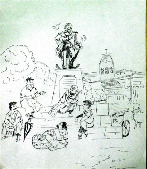 R K Laxman Sketches by Jd S Sketch Rk Laxman S The Malgudi Days