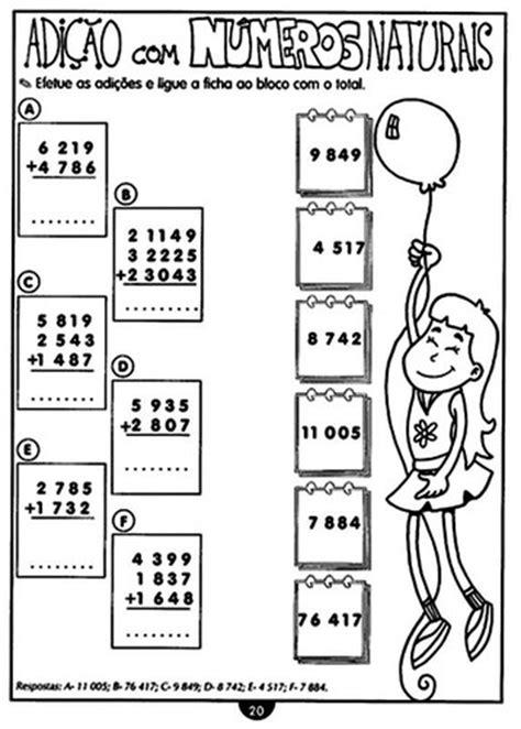 operacoes matematicas atividades