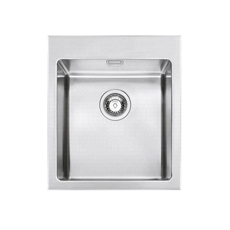 smeg vqr40rs mira kitchen sink single bowl brushed