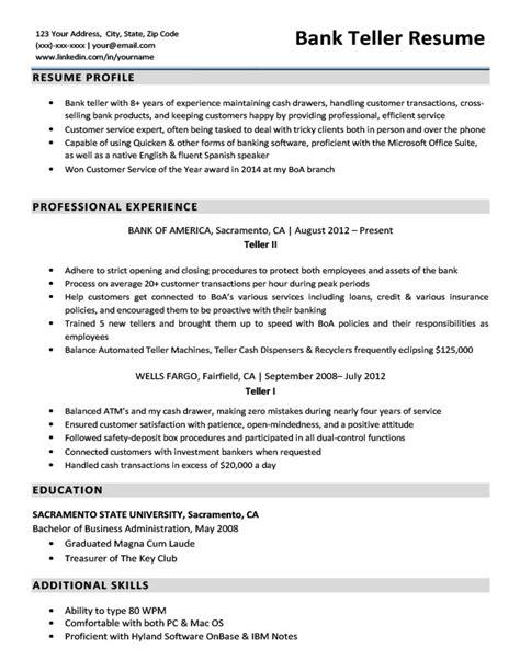 job description for bank teller resume job examples a position