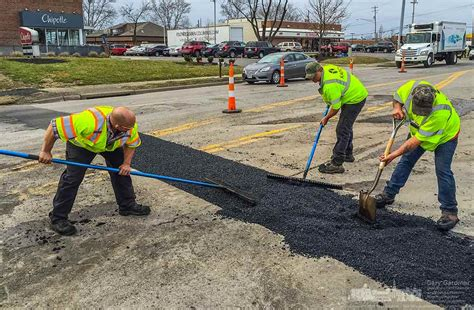 road utilities state street construction obstructs traffic westervilleoh io