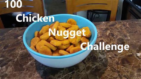 100 chicken nugget challenge 100 chicken nugget challenge