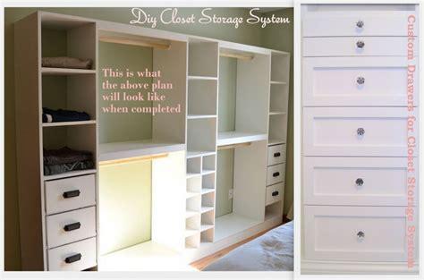 Closet Storage Systems With Drawers Pdf Diy Custom Closet Plans Plans Free
