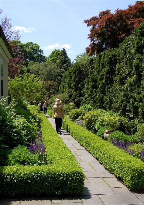 Front Yard Walkway Landscaping Ideas - the hedge a classical garden element