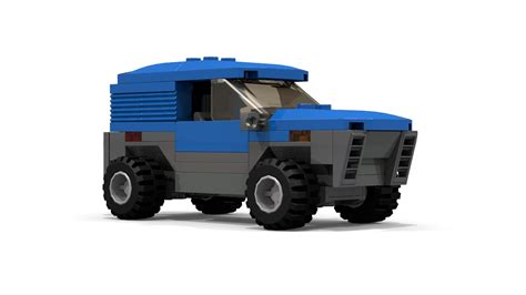 tutorial lego truck simple lego 4x4 offroad car tutorial youtube