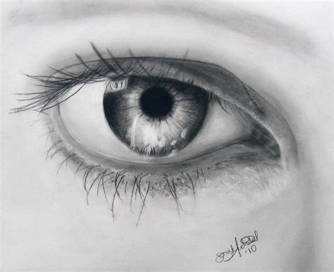 A Drawing Of An Eye by Eye Drawing 3d Drawing