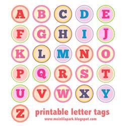 free printable alphabet letter tags diy buchstaben