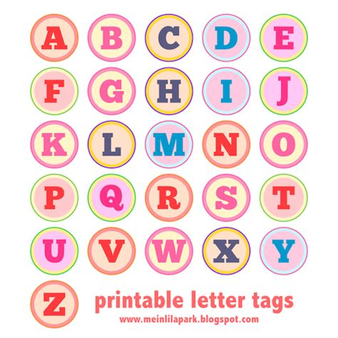 printable alphabet with designs free printable alphabet letter tags diy buchstaben