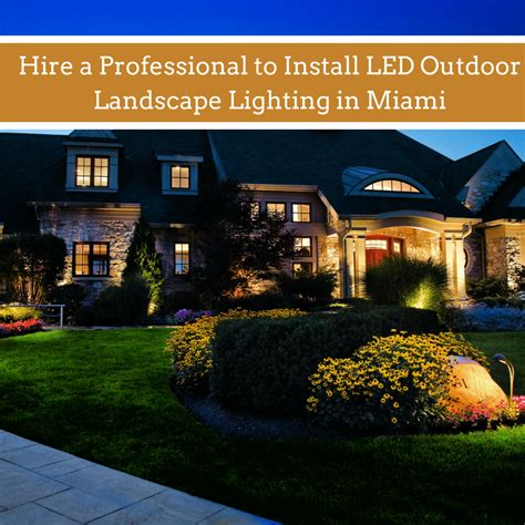 landscape lighting miami hire a professional to install led outdoor landscape lighting in miami eosoutdoorlighting