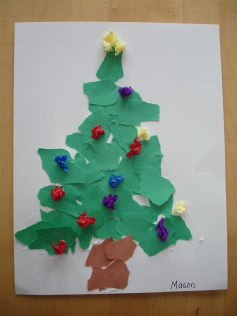 play and learn with dana scrap christmas tree
