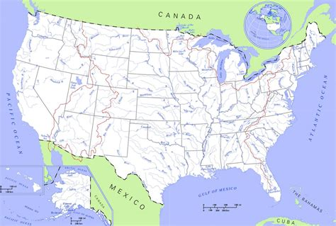 america map of mountains unit 8 manifest destiny mr tucker s class