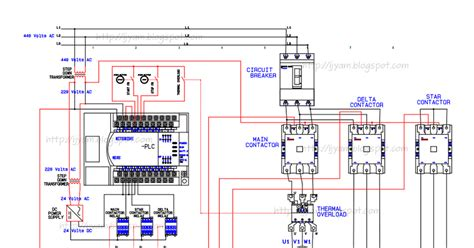 delta starter with timer circuit diagram pdf wikishare