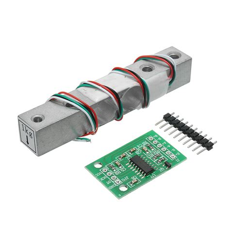 Hx711 Module Weighing Sensor Dedicated Ad Module hx711 24bit ad module 1kg aluminum alloy scale weighing sensor load cell kit for arduino