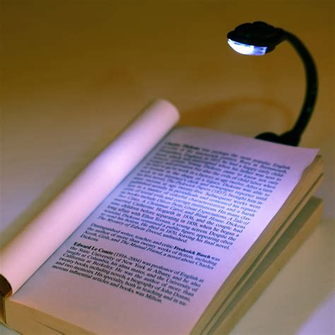 clip on book lights for reading 1pcs mini clip on bright book light laptop white