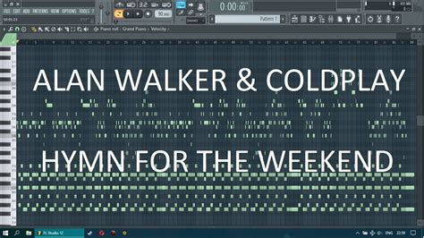 alan walker hymn for the weekend alan walker coldplay hymn for the weekend fl studio