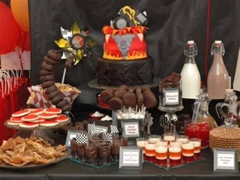 Inspi Ion Monster Truck Dessert Table Spaceships And