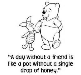 quot a day without a friend is like a pot without a single