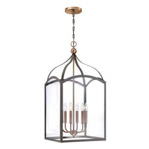hinkley light fixtures hinkley lighting 3414bz 6 light clarendon foyer fixture