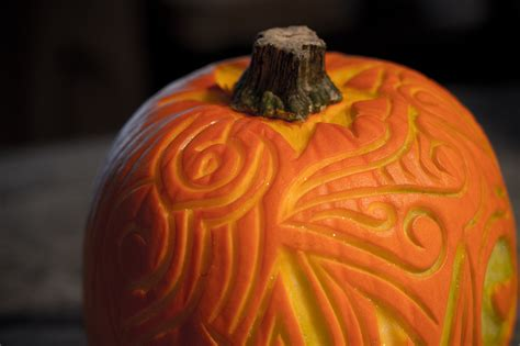 beautifully different pumpkin carving the blue brick inspired yarns