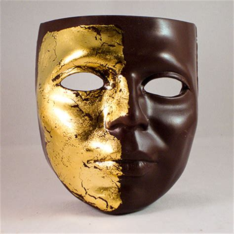 Masker Gold chocolate masks collection gold mask large