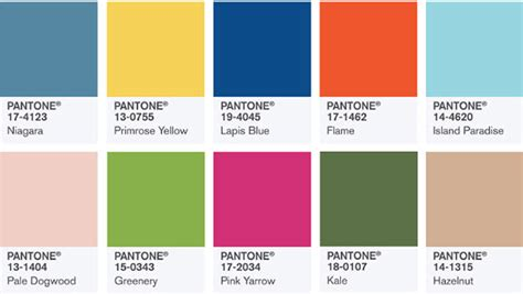 colours of the year 2017 pantone reveals the colours you ll be wearing in 2017