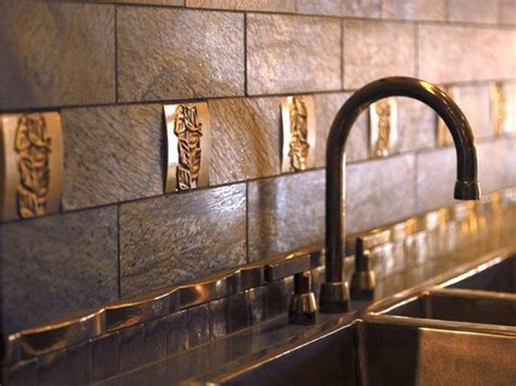 tips  decorating  kitchen  brick backsplash