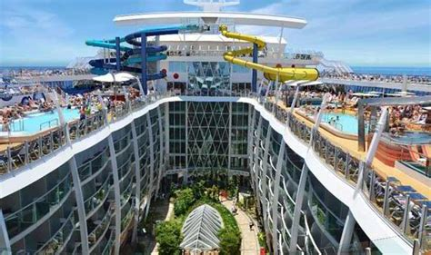 royal caribbeans newest ship royal caribbean inside the world s largest cruise ship