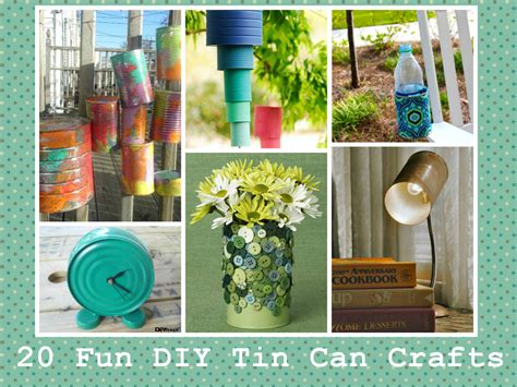 diy crafts with tin cans 20 diy tin can crafts