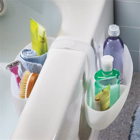umbra bathtub caddy umbra straddle rubber bathtub caddy white 023210 660