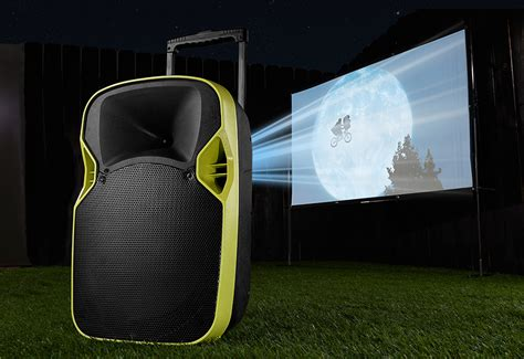portable drive   theater  sharper image