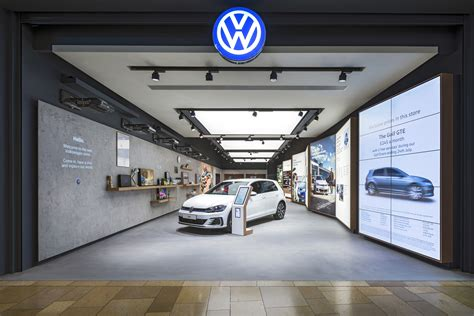 retail experience design dalziel and pow creates retail experience for volkswagen