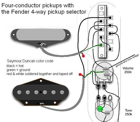 telecaster 4 way switch diagram tele stack pups w fender 4 way