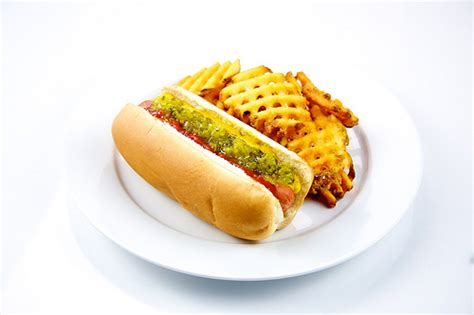 dogs and fries with fries flickr photo