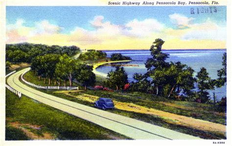 Records Pensacola Fl Florida Memory Scenic Highway Along Pensacola Bay Pensacola Florida