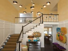 foyer paint color ideas with ladder home interior design