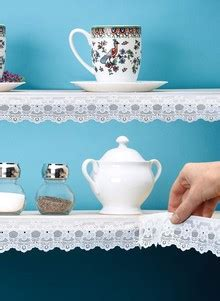 vinyl lace shelf trim carolwrightgiftscom