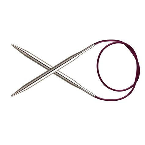 knitting circular needles knitpro metal fixed circular knitting needles 120cm