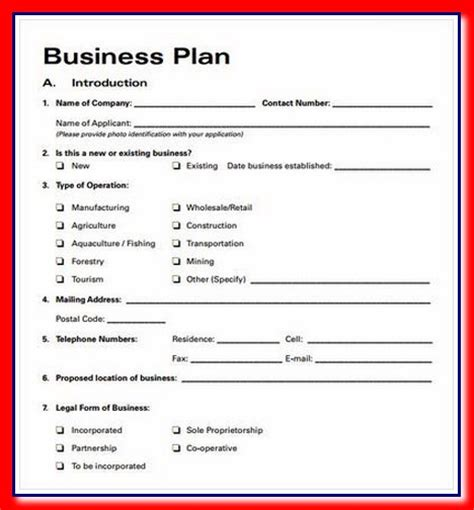 Business Plan Templates. Go To Market Business Plan