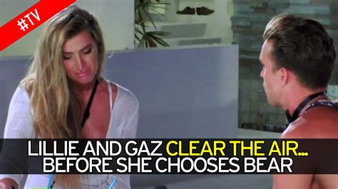 watch lillie lexie gregg confront gaz beadle for cheating gaz beadle apologises to tearful lillie lexie gregg in